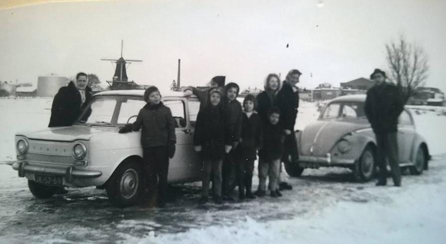 IJssel bevroren bij Olst