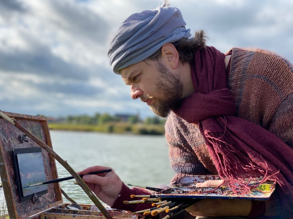 Daniel Douglas schildert de IJssel