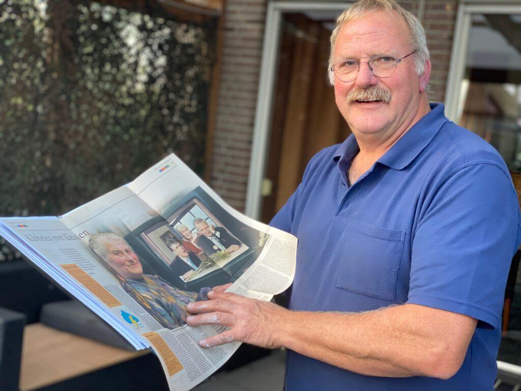 Johan Boeve wil graag museum voor Klazien uit Zalk in zijn dorp