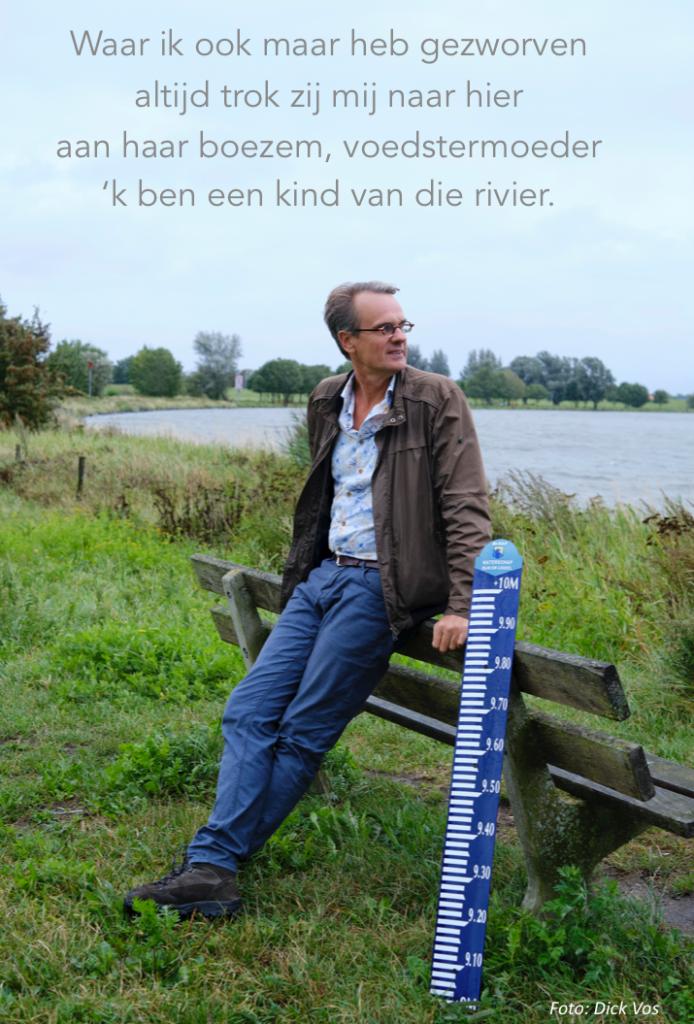 Ik ben een kind van de rivier, gedicht Alet Boukes Zwolle