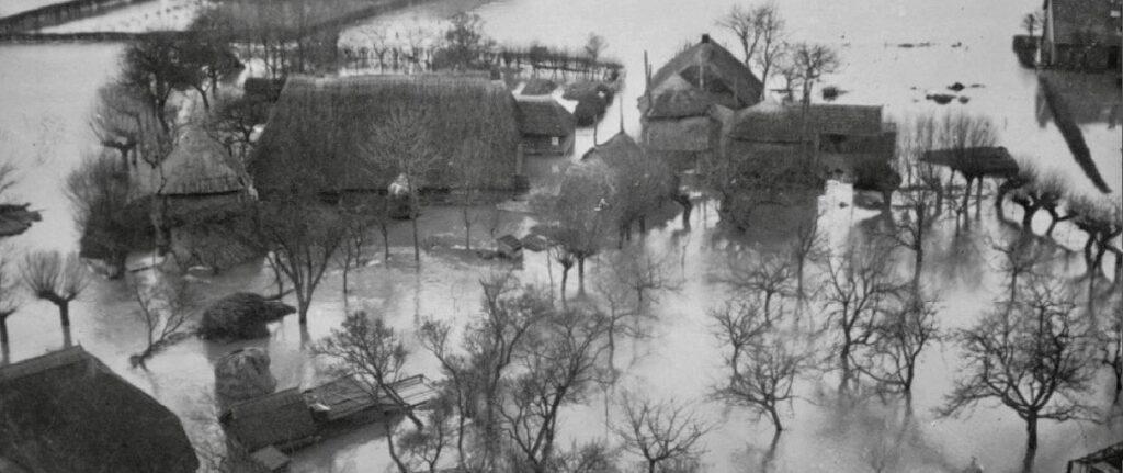 Zalk watersnood 1926 - beeld HCO