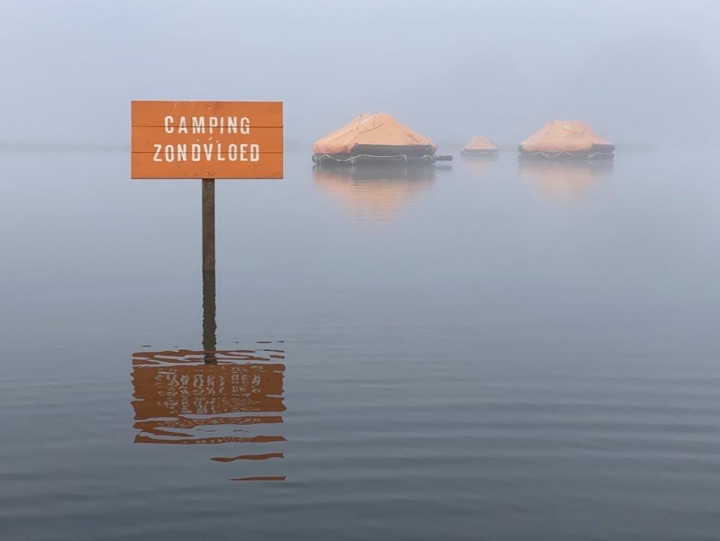Camping zondvloed IJsselbiennale Zwolle
